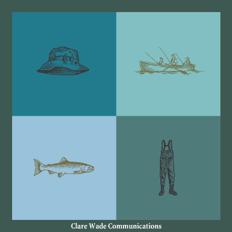 CLARE WADE COMMUNICATIONS Design/Programming (Partnered on Programming with Dan Tyger, while with Square One Design) I designed this site while Clare's identity was a pair of waders, seen in the lower right.